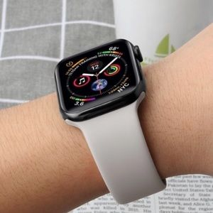 Accessories - ⌚️2for$25 Fog Gray silicone BAND for Apple iWatch